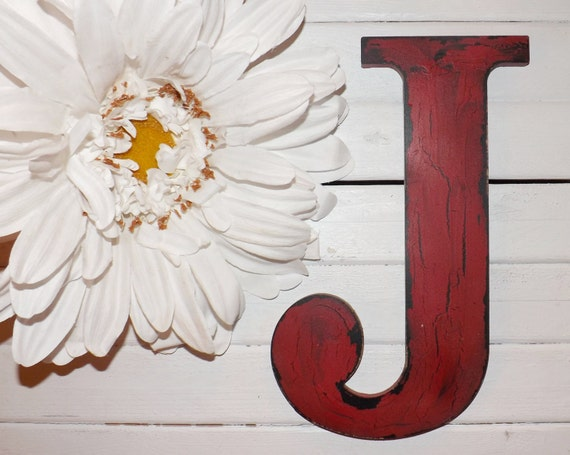 Large Letter J For Wall Large Letter J  Wall Letter  Wood Letter  Choice Color