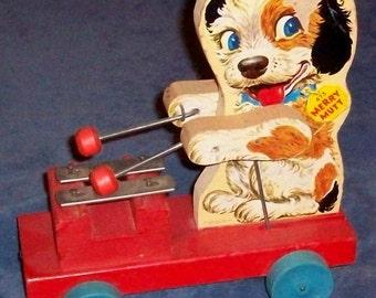 Fisher-Price Toy 473 Merry Mutt 1949-54