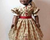 Civil War Era Dress for American Girl Addy