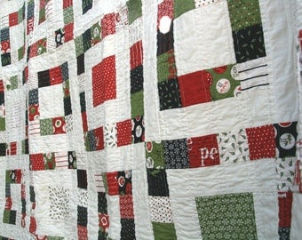 Countdown to Christmas Throw Quilt (58x69in.)