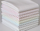 Low Volume Polka Dots 10 Fat Quarter Bundle from Riley Blake's La Creme Collection