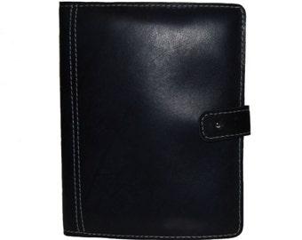 iPad 2 Black Leather Case