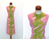 Vintage 60s Boutique Dress By Wilroy Of New York Large