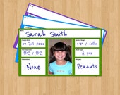 Identification Cards for Kids, printable