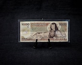 1984 Mexican 1000 Peso Bank Note - Series VW