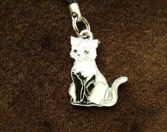 Kitten Cell Phone Charm