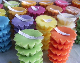 Lot 100 Soy Wax Wickless Candle Tarts Melts - Your Choice of up to 50 Scents