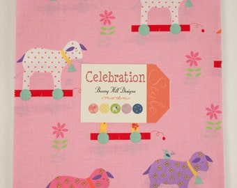 Celebration Junior Layer Cake (for girls) by Bunny Hill for Moda