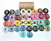 Waxed Irish Linen Thread  4ply Approx 100 yards - Full Spool