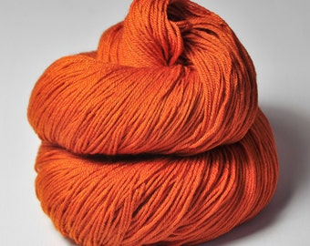 Red-hot metal - Merino/Silk Fingering Yarn Superwash