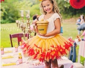 Gold Tutu created for a Many Adventures of Winnie The Pooh Party