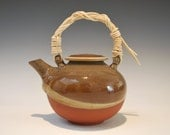 Teapot with Hand-made Bamboo Handle