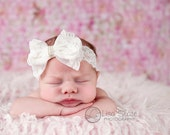 lace headband, Baby headband, newborn headband, adult headband, baby headband and photography prop Sweetness lace bows headband