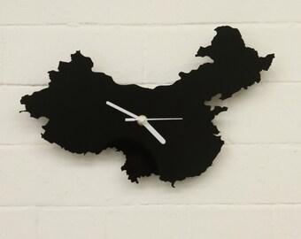 China Clock (Black)