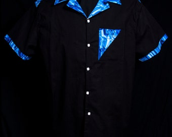 The VERY LAST Accent On The Rocks Black limited-edition ultra-high quality men's shirt