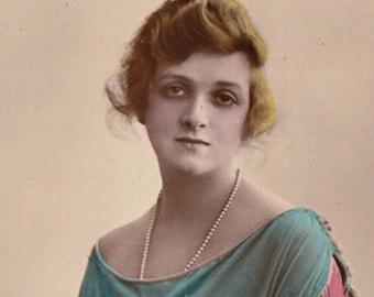 Gladys Cooper Vintage Postcard Used 1920s by Rita Martin