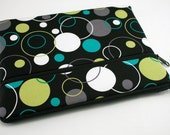 Fabric iPad Air 2 Cover, iPad 4 3 2 1, iPad mini 3 2, Kindle Fire HDX 8.9 7, Pro Surface 3 2 Cover, Galaxy 10.1 7, Nexus 10 7-Bubble Party