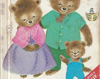 The Three Bears Vintage Children's Book, C1971