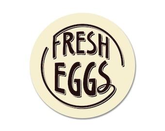 "Fresh Eggs - 9"" Round - Cream SKU: SR9026"