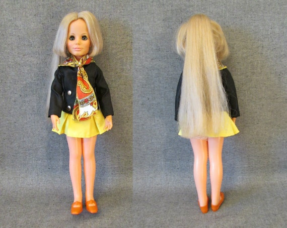 Kerry Grow Hair Doll - Crissy Family by Ideal 1970