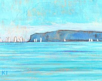 Dana Point Sailboats - Landscape Painting