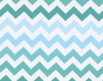 Chevron - Blue Ombre
