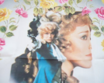 The Authentic Rose of Versailles Handkerchief.Lady Oscar. Xtra RARE.1979