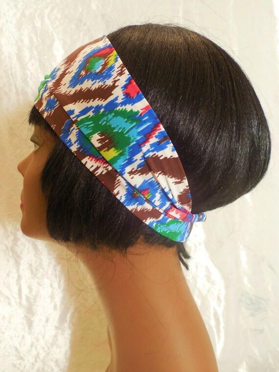 Womens Headband is Swim Lycra