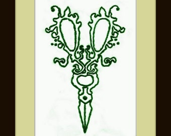 Downloadable Embroidery Pattern