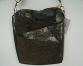 Mossy Oak Camo and Faux Leather Purse