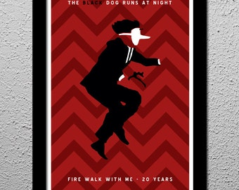 Twin Peaks Fire Walk With Me Poster 13x19