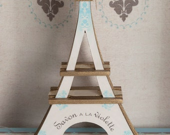 Small Eiffel Tower Soap Display Kit 1:12 Scale