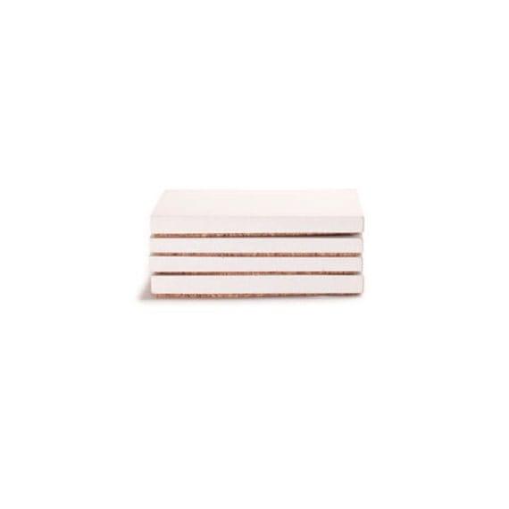 Concrete Coasters. Refined. Square. Tiny Trivet