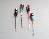 Quantum Holographic Copper Bobby Pins