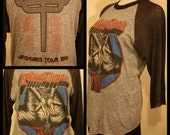 INCREDIBLE//// Unisex 1984 Judas Priest 1984 defenders tour collectible rock tee MUST SEE////