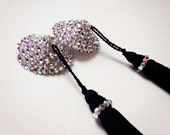 Crystal Pasties with Removable tassels