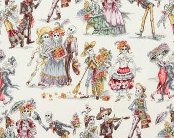 Alexander Henry fabric Paseo De Los Muertos-1YD