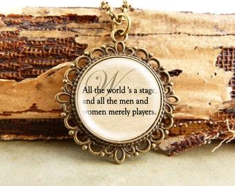 World - Fancy Literature Necklace