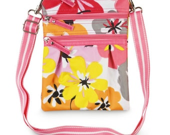 Cotton blossom Cross body bag from Room It Up, monogrammed, personalized, custom