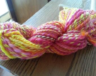 Sunshine Handspun Polwarth Heavy Worsted Weight Wool Yarn