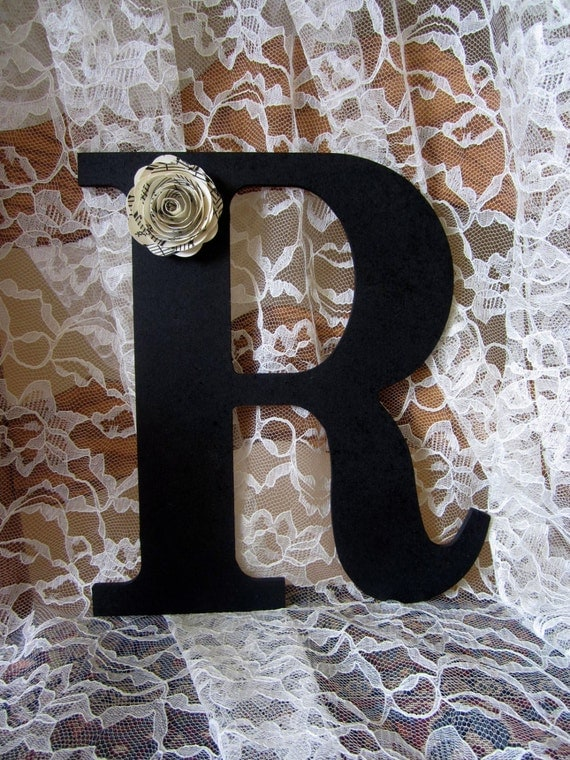 black letter r wall art decor wood initial wedding newlywed With letter r for wall