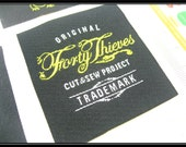 600 woven label, free design service, letter only clothing labels, damask woven label for garment