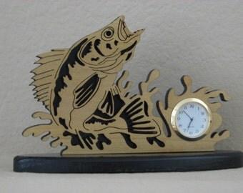 Walleye Mini-clock