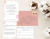 Watercolor Bubbles Wedding Invitations. Watercolor Print. Modern Wedding Invitations. Wedding Favors. Wedding Menu. Wedding Programs. Paper.