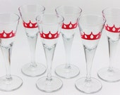 6 Shot Glasses, personalized, girls night out
