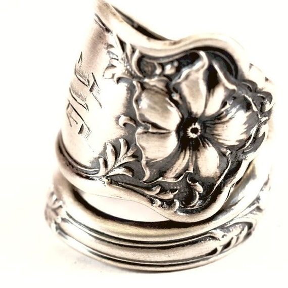 spoon ring althea sterling silver spoon ring althea by by