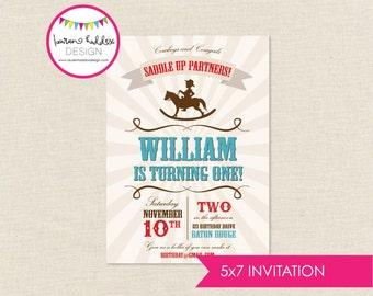 Cowboy Birthday, Cowboy Birthday Invitation, Cowboy Silhouette, Cowboy Printables, Cowboy Birthday Decorations, Lauren Haddox Designs