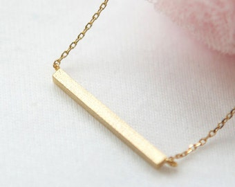 Golden Bar Necklace