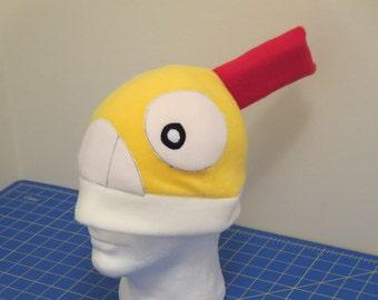 Scraggy Fleece Cosplay Hat