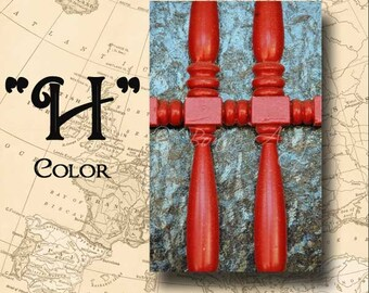 Letter H Alphabet Photography Color 4 x 6 Photo Letter Unframed
